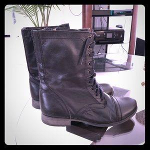 Steve Madden Troopa combat boots (black)